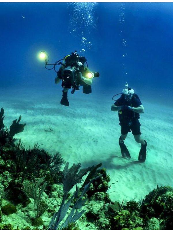 Scuba diving in kriti