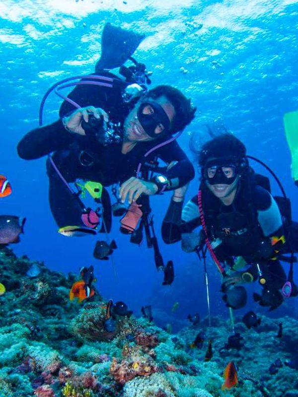 Scuba diving in kreta