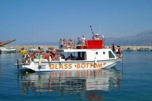 CRUISE ON GLASS BOTTOM BOAT