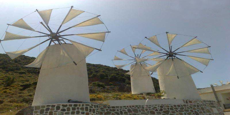 Windmill-in-Lasithi-Plateau